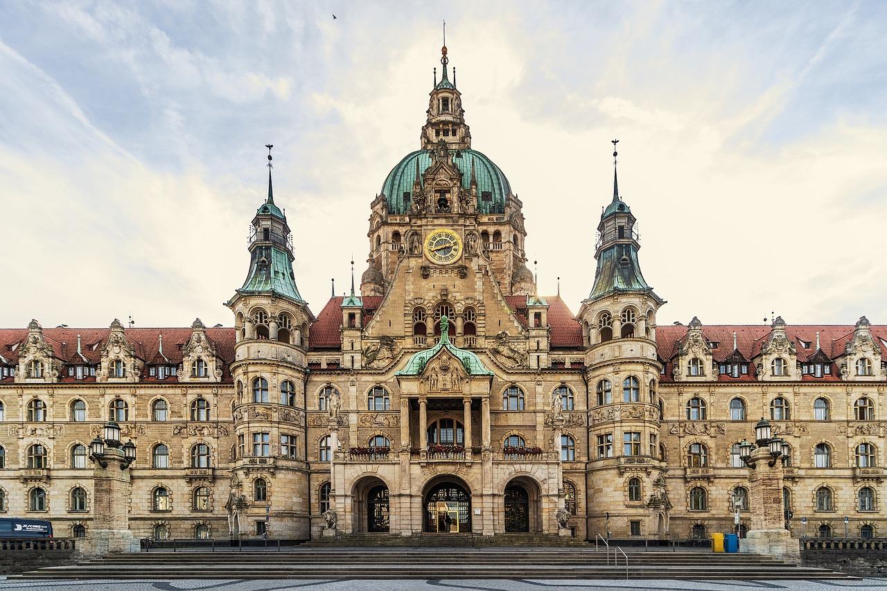 Neues Rathaus, Hannover, von Stefan Fuchs (Pixabay.com)